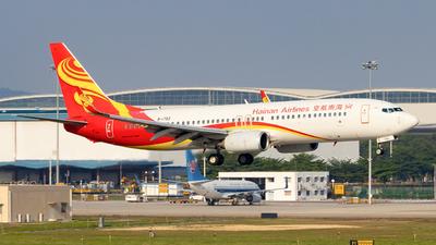 B-1793 - Boeing 737-86J - Hainan Airlines