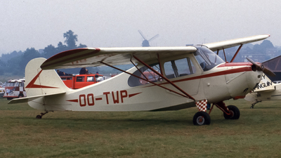 OO-TWP - Aeronca 7AC Champion - Private