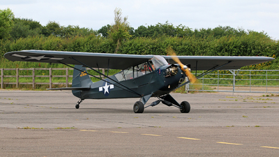 A picture of GBHVV - Piper J3C65 Cub - [10291] - © Brian T Richards