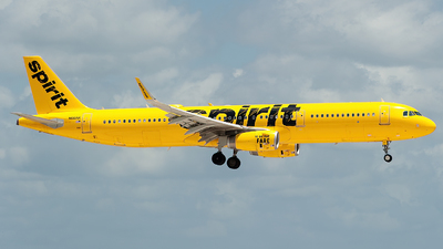 A picture of N661NK - Airbus A321231 - Spirit Airlines - © Mark Lawrence
