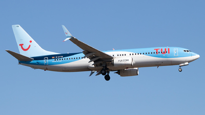 A picture of DATYB - Boeing 7378K5 - TUI fly - © Julian S.