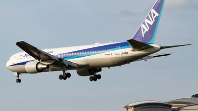 A picture of JA607A - Boeing 767381(ER) - All Nippon Airways - © Yukio023