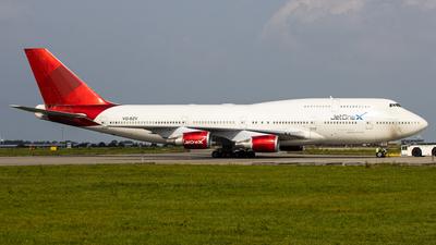 VQ-BZV - Boeing 747-41R - JetOneX (Longtail Aviation)