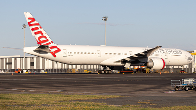 A picture of VHVPF - Boeing 7773ZG(ER) - Virgin Australia - © AS P