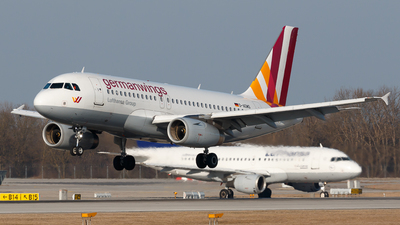 D-AGWS - Airbus A319-132 - Germanwings