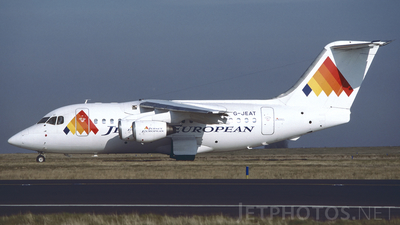 G-JEAT - British Aerospace BAe 146-100 - Jersey European Airways