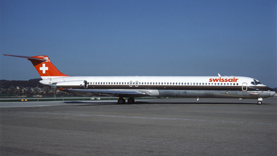 HB-INS - McDonnell Douglas MD-81 - Swissair