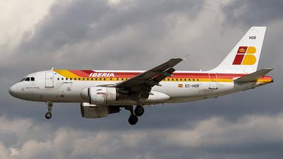 EC-HGR - Airbus A319-111 - Iberia
