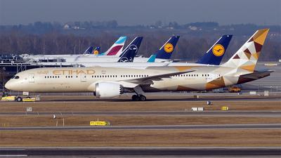 A6-BLD - Boeing 787-9 Dreamliner - Etihad Airways