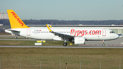 TC-NBR - Airbus A320-251N - Pegasus Airlines