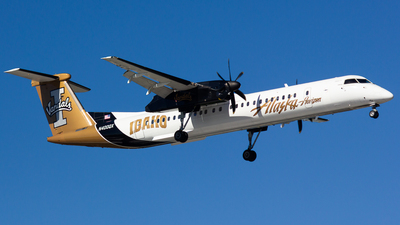 N400QX - Bombardier Dash 8-Q402 - Alaska Airlines (Horizon Air)