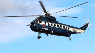 N448JS - Sikorsky S-61N - Héli Carrier