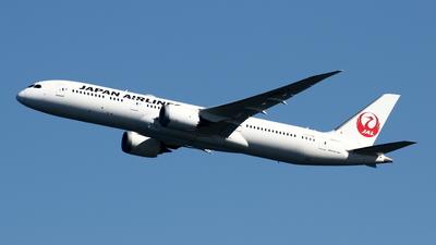 A picture of JA867J - Boeing 7879 Dreamliner - Japan Airlines - © Yoshiharu Ozaki