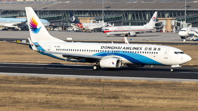 A picture of B1104 - Boeing 73783Z - Donghai Airlines - © Charles-Yixin Yin
