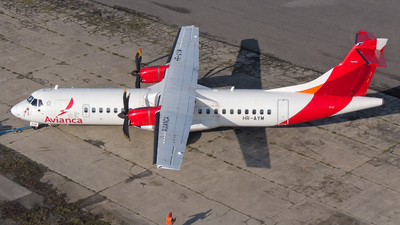 A picture of HRAYM - ATR 72600 - Avianca - © Daniel Hernández J.