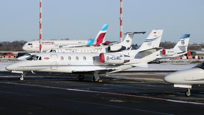 A picture of DCSMC - Cessna 560 Citation XLS+ - Silver Cloud Air - © Darius Swoboda