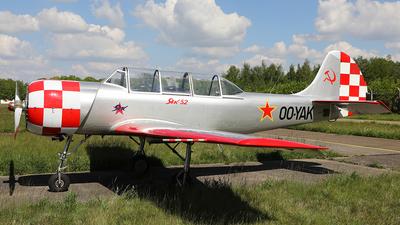 OO-YAK - Yakovlev Yak-52 - Private