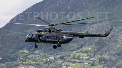 HK-3758 - Mil Mi-8 Hip - Helistar Colombia