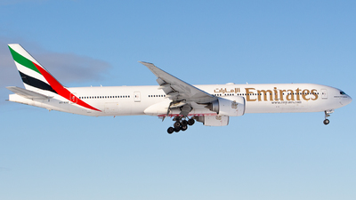 A picture of A6ENF - Boeing 77731H(ER) - Emirates - © Andre_S