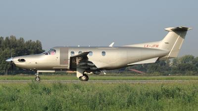 LX-JFW - Pilatus PC-12/47E - Jetfly Aviation