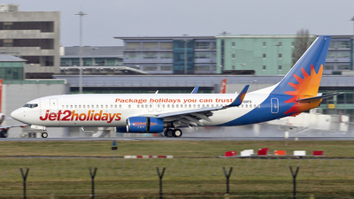 A picture of GGDFD - Boeing 7378K5 - Jet2 - © Paul Spijkers