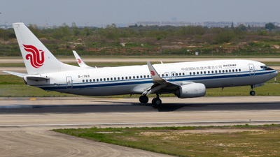 B-1769 - Boeing 737-89L - Air China Inner Mongolia