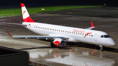 A picture of OELWF - Embraer E195LR - Austrian Airlines - © Simon Prechtl