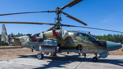 RF-13422 - Kamov Ka-52 Alligator - Russia - Air Force