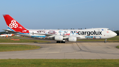 LX-VCM - Boeing 747-8R7F - Cargolux Airlines International
