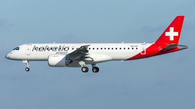 HB-AZF - Embraer 190-300STD - Helvetic Airways
