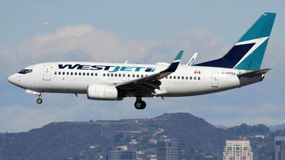 C-GWBX - Boeing 737-7CT - WestJet Airlines