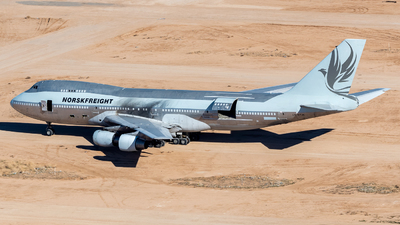 LN-WTJK - Boeing 747-2L5B(SF) - Unknown