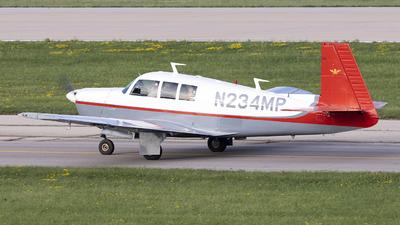N234MP - Mooney M20F - Private
