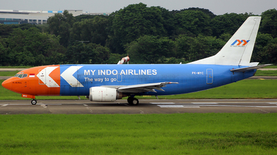 A picture of PKMYC - Boeing 73739K(SF) - My Indo Airlines - © Luqman Alif
