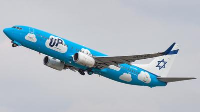 4X-EKO - Boeing 737-86Q - Up