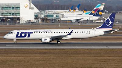 SP-LND - Embraer 190-200LR - LOT Polish Airlines