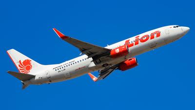 PK-LJR - Boeing 737-8GP - Lion Air