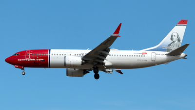 A picture of EIFYD - Boeing 737 MAX 8 - Norwegian - © Szabó Imre