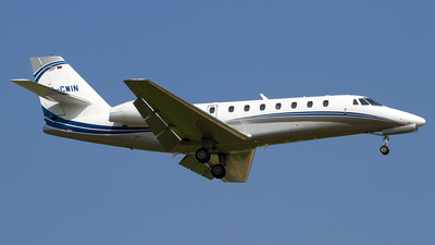 A picture of DCWIN - Cessna 680 Citation Sovereign - Silver Cloud Air - © Roberto Bianchi