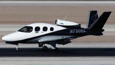 N730EL - Cirrus Vision SF50 G2 Arrivee - Private