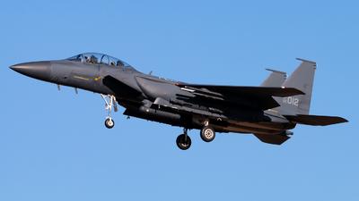02-012 - McDonnell Douglas F-15K Slam Eagle - South Korea - Air Force