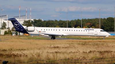 D-ACNN - Bombardier CRJ-900LR - Lufthansa CityLine