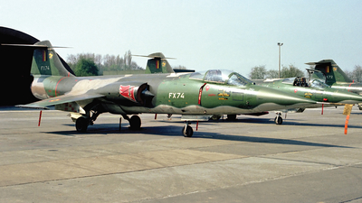 FX74 - Lockheed F-104G Starfighter - Belgium - Air Force