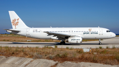 LY-COB - Airbus A320-232 - GetJet Airlines