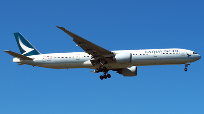 B-KQA - Boeing 777-367ER - Cathay Pacific Airways