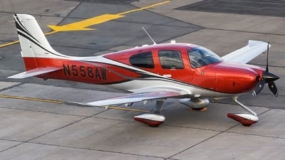 N558AW - Cirrus SR22T - Private