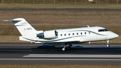 C-FBEM - Bombardier CL-600-2B16 Challenger 604 - Private