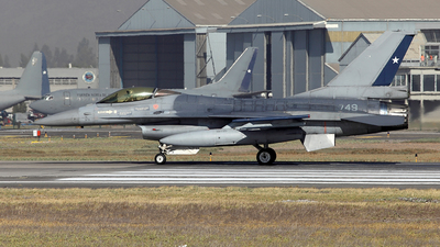 749 - General Dynamics F-16AM Fighting Falcon - Chile - Air Force
