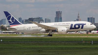 A picture of SPLRF - Boeing 7878 Dreamliner - LOT - © Witold Salacinski
