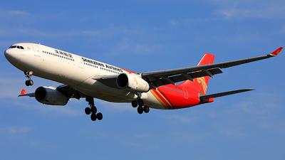 A picture of B302E - Airbus A330343 - Shenzhen Airlines - © PEK-359YuKai